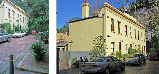 Atherden Stree, The Rocks, Sydney
