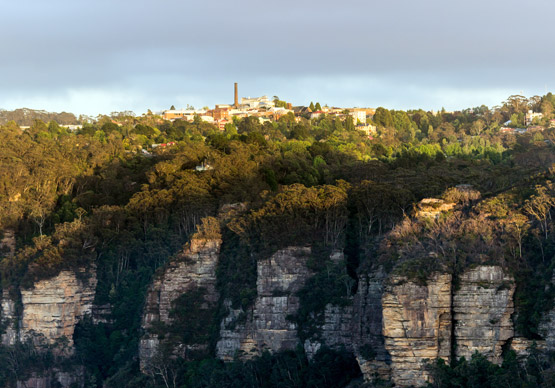 Katoomba, in the Blue Mountains, NSW
