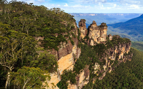 BThree Sisters at the Blue Mountains, NSW