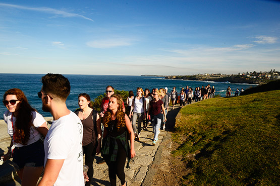 Bondi to Bronte walk, Sydney