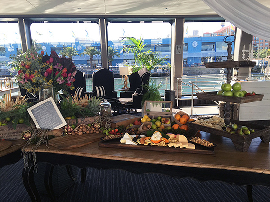Corporate function on Sydney Harbour