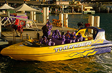 Jet boat rides on Sydney Harbour